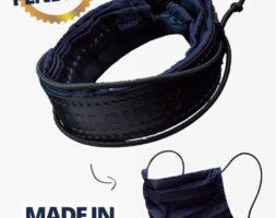 Masket, il bracciale-mascherina in pelle