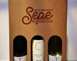 Confezione regalo Tris bottiglie di Vino Antica Cantina Sepe